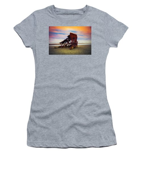 Rusting Shipwreck Women's T-Shirt (Athletic Fit)
