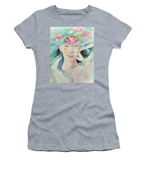 Sacred Awakening Women's T-Shirt (Athletic Fit)