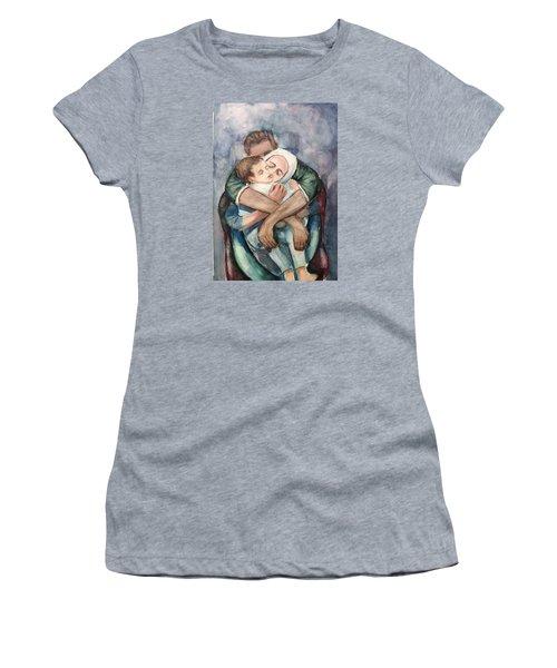 The Saddest Moment Women's T-Shirt (Junior Cut) by Laila Awad Jamaleldin