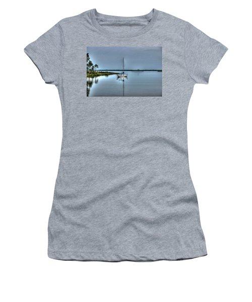 Sailboat Off Plash Women's T-Shirt