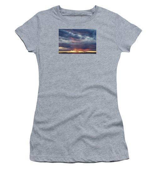 Sailboats On The Bay Women's T-Shirt (Junior Cut) by Elvira Butler