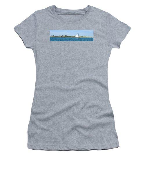 Sailing Around Barnstable Harbor Women's T-Shirt