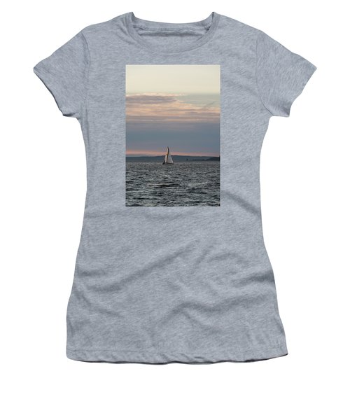 Sailing In The Puget Sound Women's T-Shirt