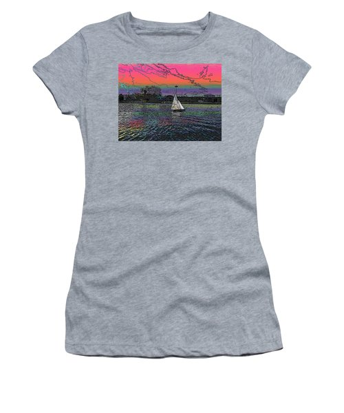 Sailing South Lake Union Women's T-Shirt (Athletic Fit)