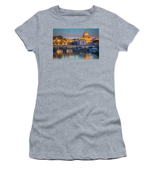 Saint Peters Basilica Women's T-Shirt (Athletic Fit)