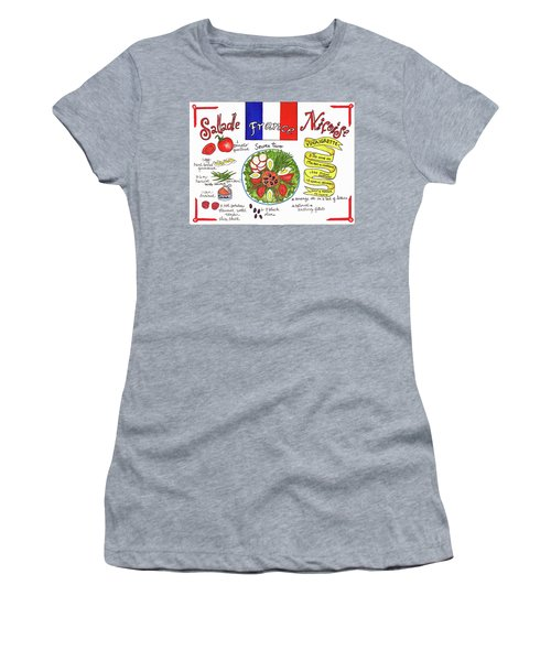 Salade Nicoise Women's T-Shirt (Athletic Fit)