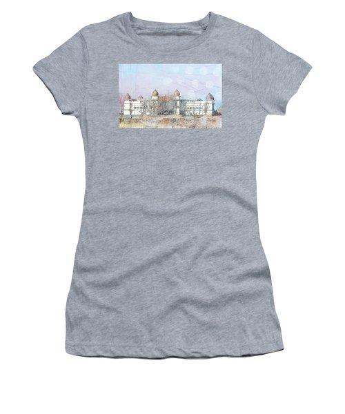 Women's T-Shirt (Junior Cut) featuring the photograph Salt Air by Cynthia Powell
