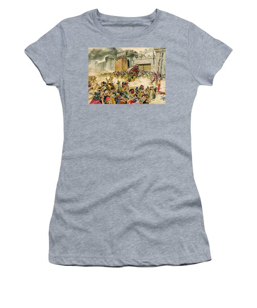 Samaria Falling To The Assyrians Women's T-Shirt