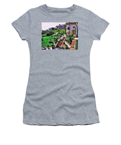 San Clemente Estate Backyard Women's T-Shirt