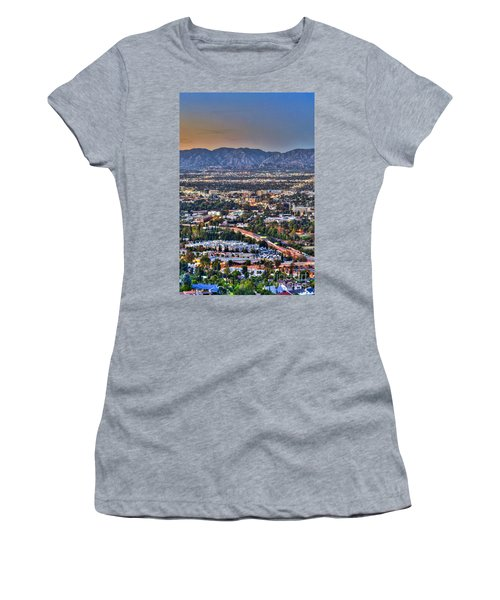 San Fernando Valley Vertical Women's T-Shirt (Athletic Fit)