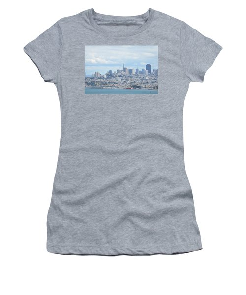Women's T-Shirt (Junior Cut) featuring the photograph San Francisco by Alex King
