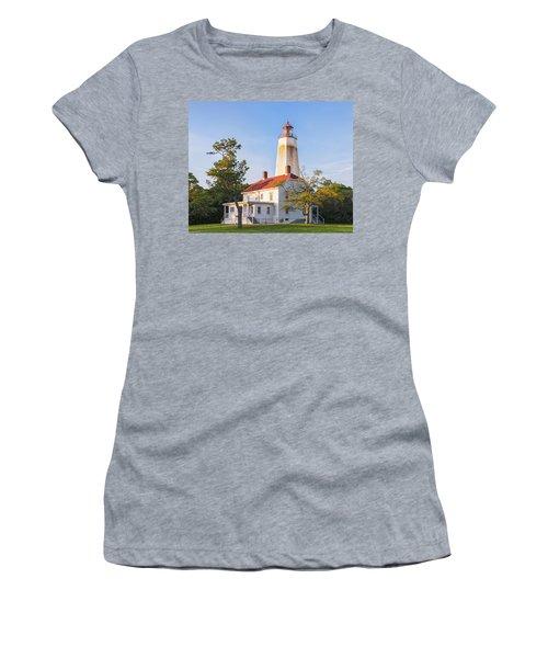 Sandy Hook Lighthouse II Women's T-Shirt (Athletic Fit)