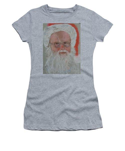 Santa Women's T-Shirt (Athletic Fit)