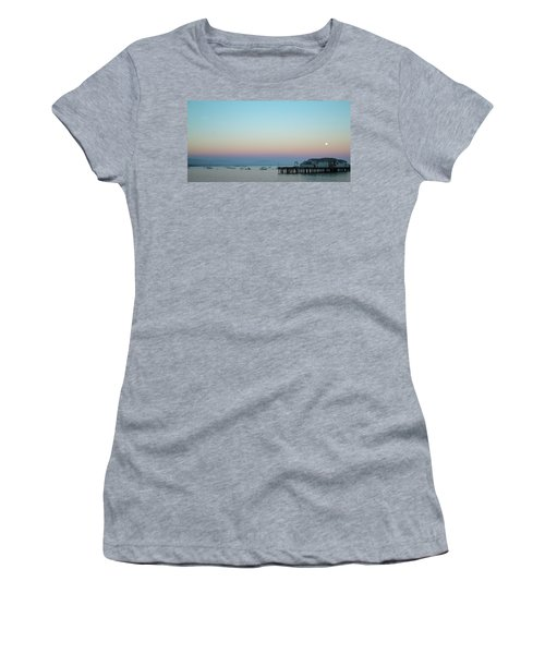 Santa Barbara Pier At Dusk Women's T-Shirt