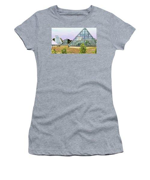 Saolariums At San Antonio Botanical Gardens Women's T-Shirt