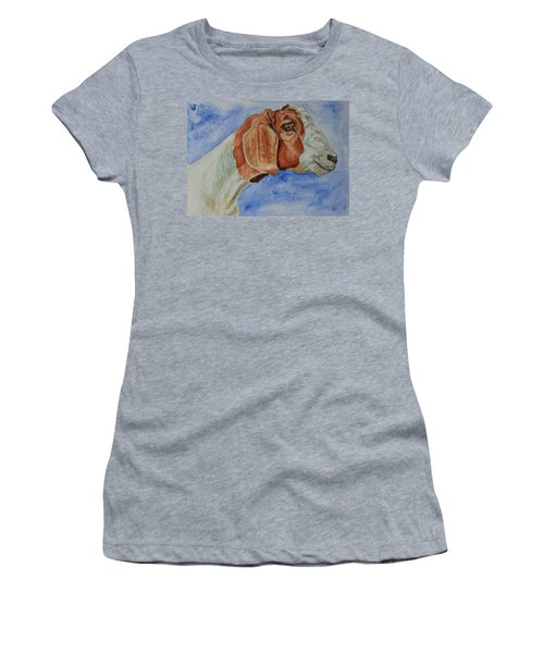 Sara's Goat Women's T-Shirt (Athletic Fit)