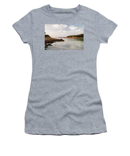 Women's T-Shirt (Junior Cut) featuring the photograph Sardinian Coast I by Yuri Santin