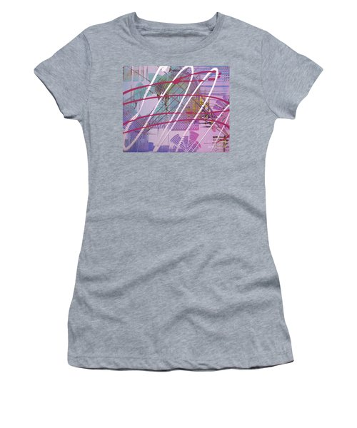 Satellites Women's T-Shirt (Junior Cut) by Melissa Goodrich