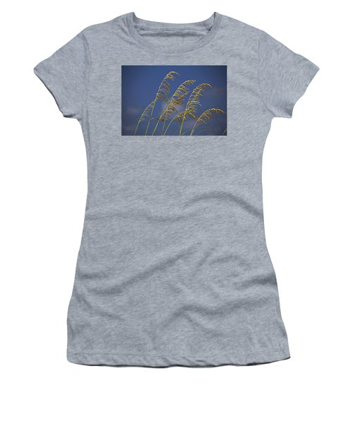 Women's T-Shirt (Athletic Fit) featuring the photograph Saturday Sway by Michiale Schneider