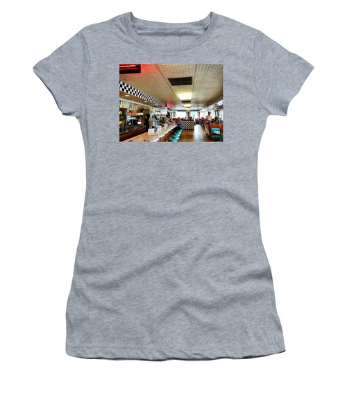 Scenes From A Diner Women's T-Shirt