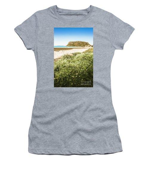Scenic Stony Seashore Women's T-Shirt