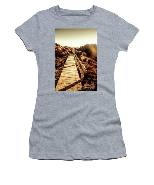 Scenic Summit Boardwalk Women's T-Shirt