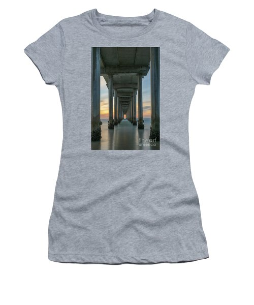 Scripps Pier Pillars  Women's T-Shirt
