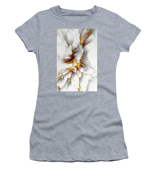 Women's T-Shirt (Athletic Fit) featuring the digital art Sculptural Series Digital Painting 22.120210 by Kris Haas