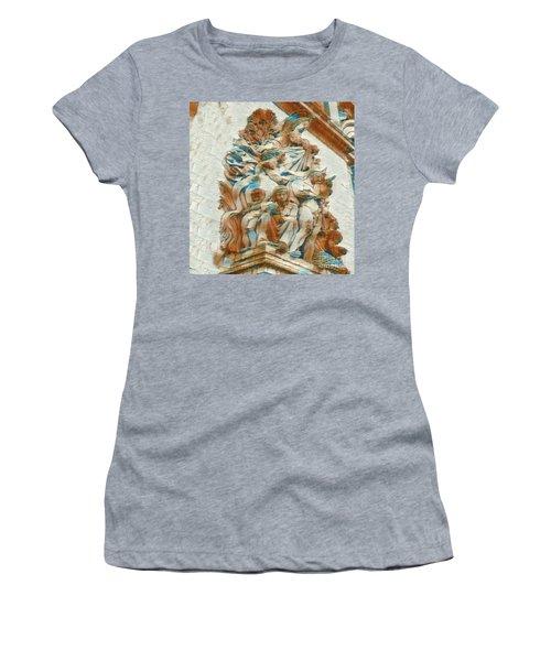Sculpture - Paris France - Arc De Triomphe Women's T-Shirt (Athletic Fit)