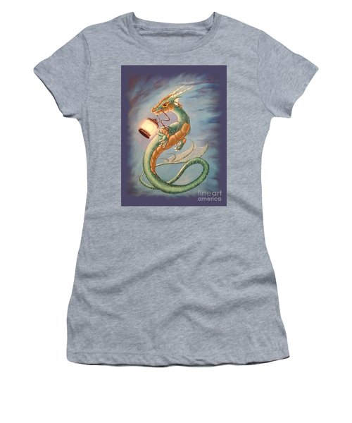 Sea Dragon And Lantern Women's T-Shirt (Athletic Fit)