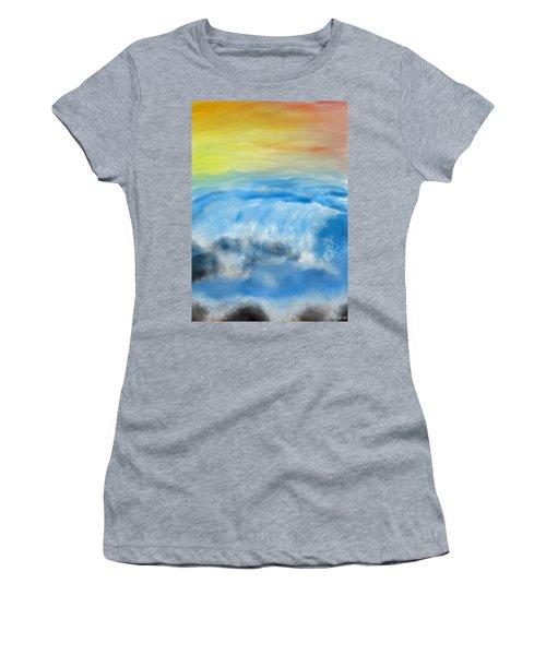 Sea Foam Women's T-Shirt (Athletic Fit)