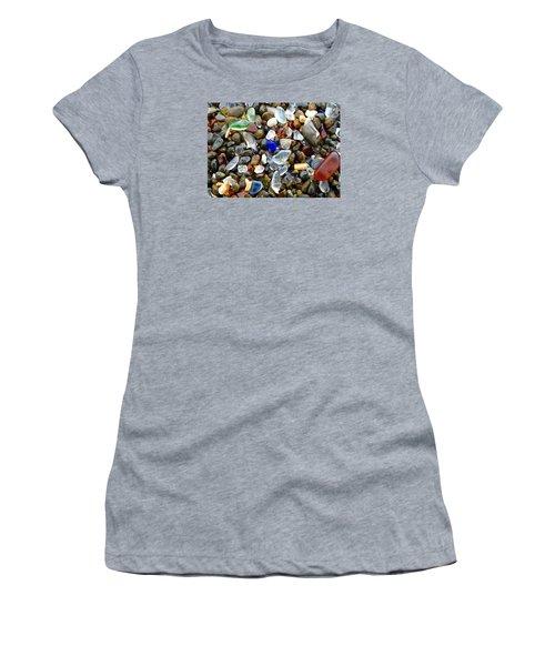 Sea Glass Beauty Women's T-Shirt (Athletic Fit)
