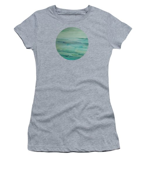 Sea Glass Women's T-Shirt (Junior Cut) by Mary Wolf