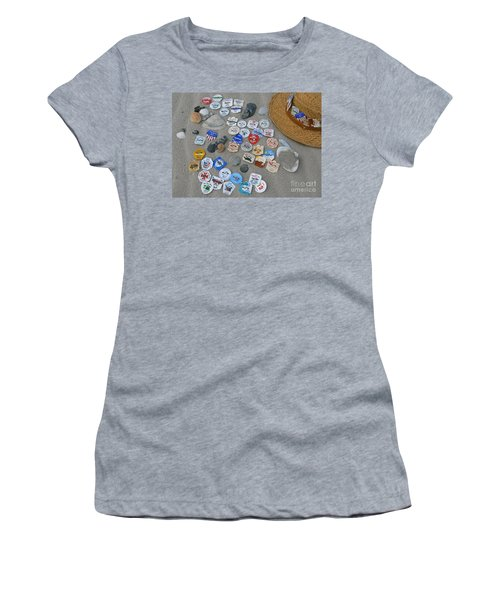 Sea Isle City Beach Tags Women's T-Shirt (Athletic Fit)