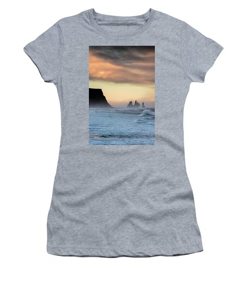 Sea Stacks Women's T-Shirt (Junior Cut) by Allen Biedrzycki
