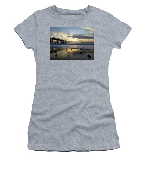 Seagulls And Salty Air Women's T-Shirt (Athletic Fit)