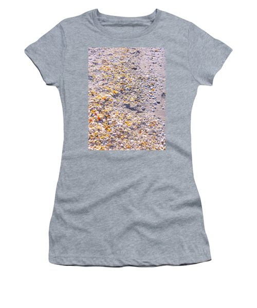 Seashells In Sanibel Island, Florida Women's T-Shirt