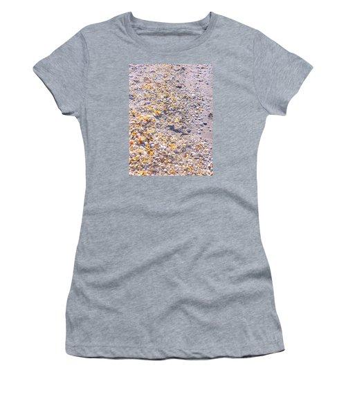 Seashells In Sanibel Island, Florida Women's T-Shirt