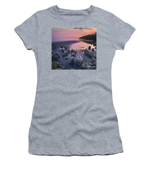 Semiahmoo Bay Women's T-Shirt (Athletic Fit)