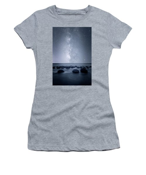 Women's T-Shirt (Athletic Fit) featuring the photograph Septarian Concretions by Dustin LeFevre