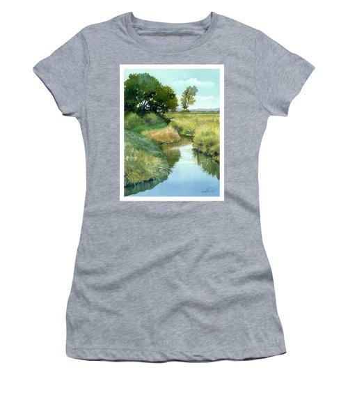 September Morning, Allen Creek Women's T-Shirt (Athletic Fit)