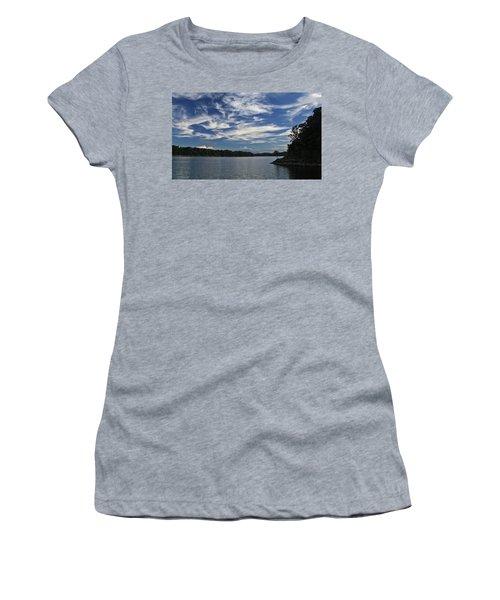 Women's T-Shirt (Junior Cut) featuring the photograph Serene Skies by Gary Kaylor