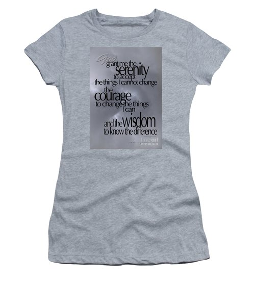 Serenity Prayer 05 Women's T-Shirt