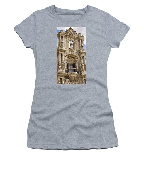 Women's T-Shirt featuring the photograph Seville Ornamental Art, Spain by Tatiana Travelways