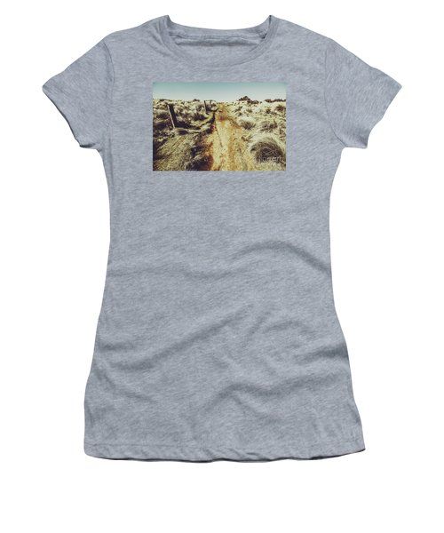 Shabby Outback Path Women's T-Shirt