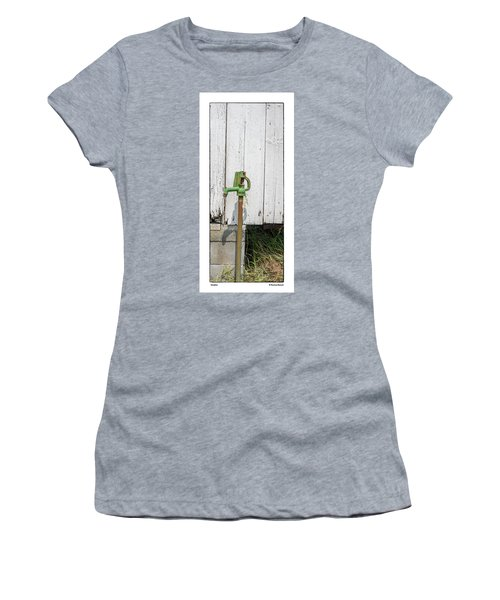 Women's T-Shirt (Junior Cut) featuring the photograph Shadow by R Thomas Berner