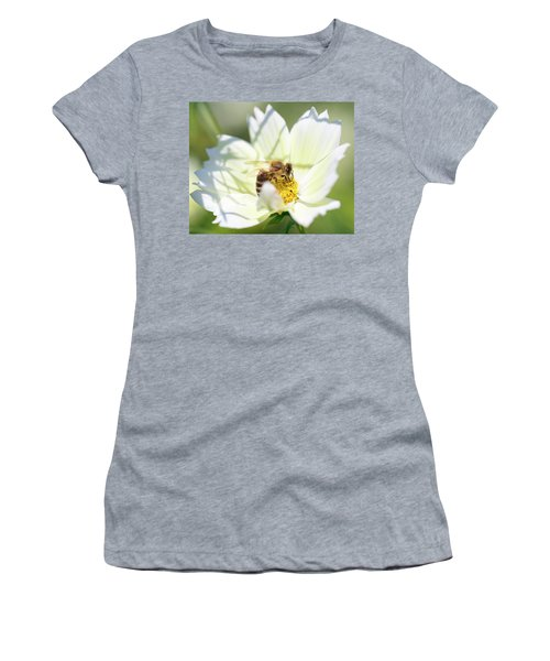 Women's T-Shirt featuring the photograph Shadowy Bee by Brian Hale