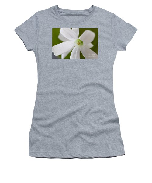Shamrock Blossom Women's T-Shirt (Athletic Fit)