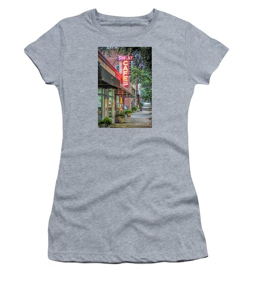 Shelby Cafe Women's T-Shirt (Junior Cut) by Marion Johnson