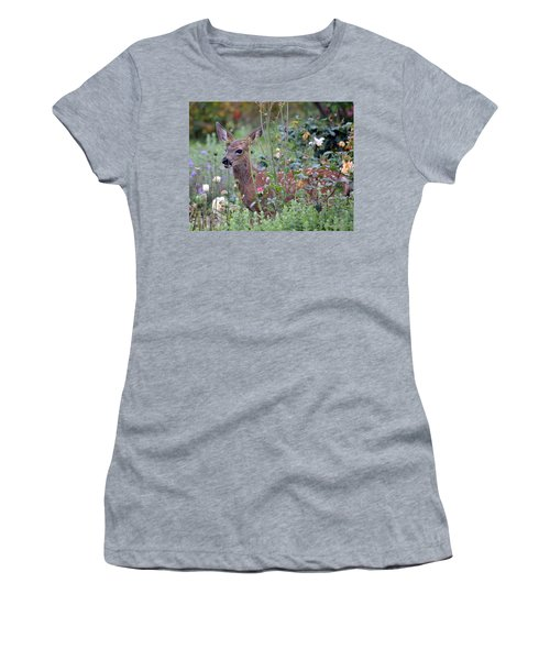 Shhhh I'm Hiding Women's T-Shirt (Athletic Fit)